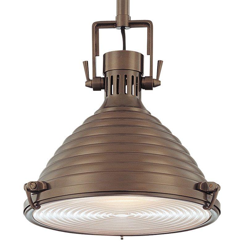 Hudson Valley Lighting 5115 One Light Pendant from the Naugatuck