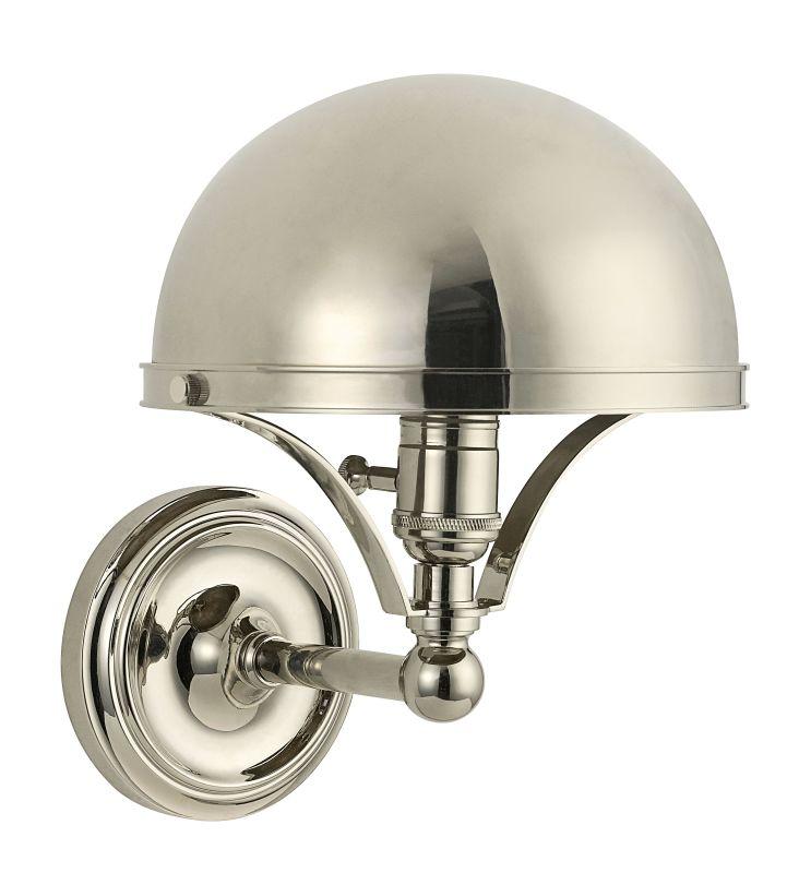 Hudson Valley Lighting 521 Covington 1 Light Wall Sconce Polished Sale $398.00 ITEM#: 2295455 MODEL# :521-PN UPC#: 806134160470 :