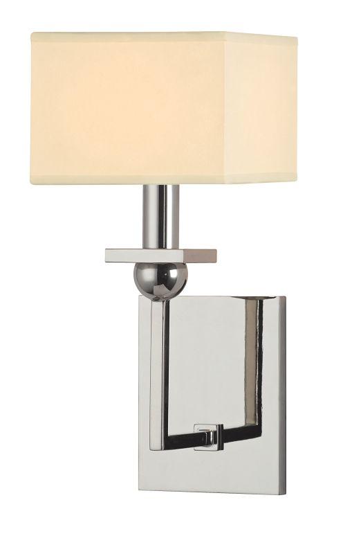Hudson Valley Lighting 5211 Morris 1 Light Wall Sconce Polished Nickel Sale $192.00 ITEM#: 2294949 MODEL# :5211-PN UPC#: 806134160548 :