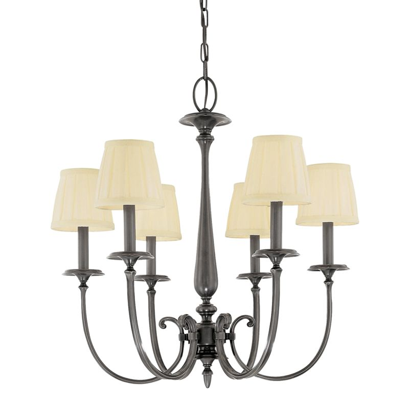 Hudson Valley Lighting 5216 Six Light Chandelier from the Jefferson