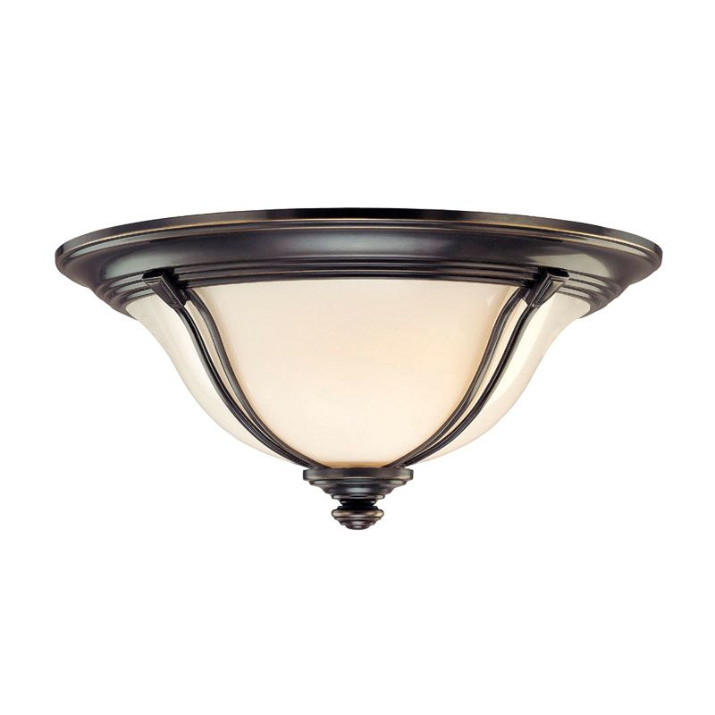 Hudson Valley Lighting 5417 Carrollton 3 Light Flush Mount Ceiling Sale $449.00 ITEM#: 1103420 MODEL# :5417-OB UPC#: 806134106096 :