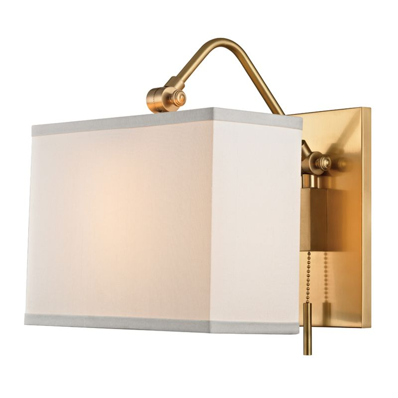 "Hudson Valley Lighting 5421 Leyden Single Light 9"" Wide Wall Sconce"