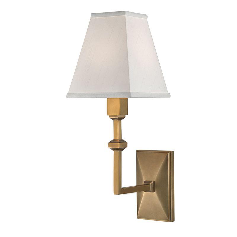"Hudson Valley Lighting 5500 Tilden Single Light 13"" Wall Sconce with"