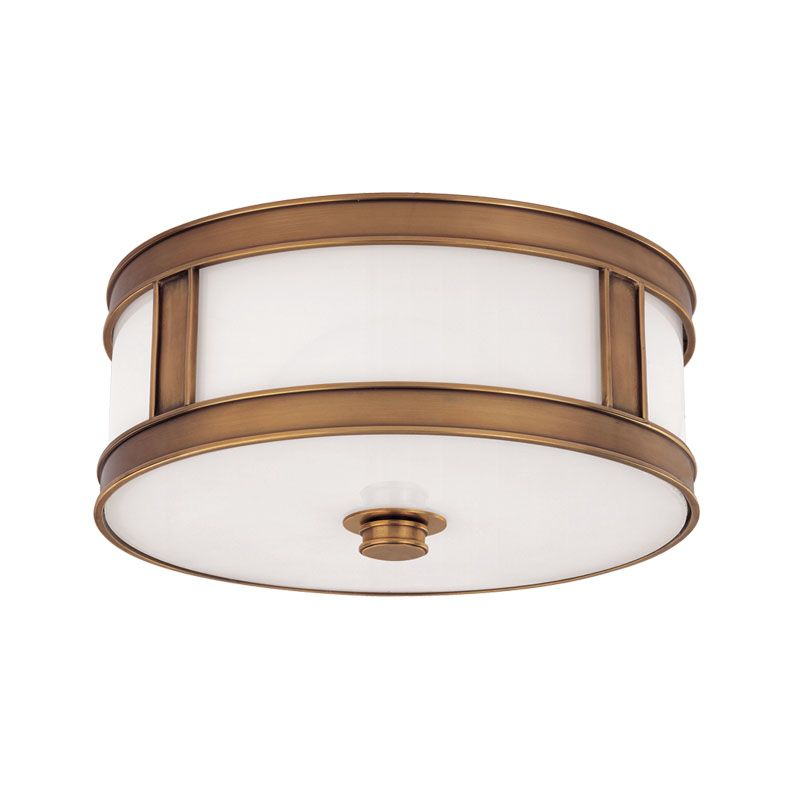 Hudson Valley Lighting 5516 Three Light Down Lighting Brass Flushmount