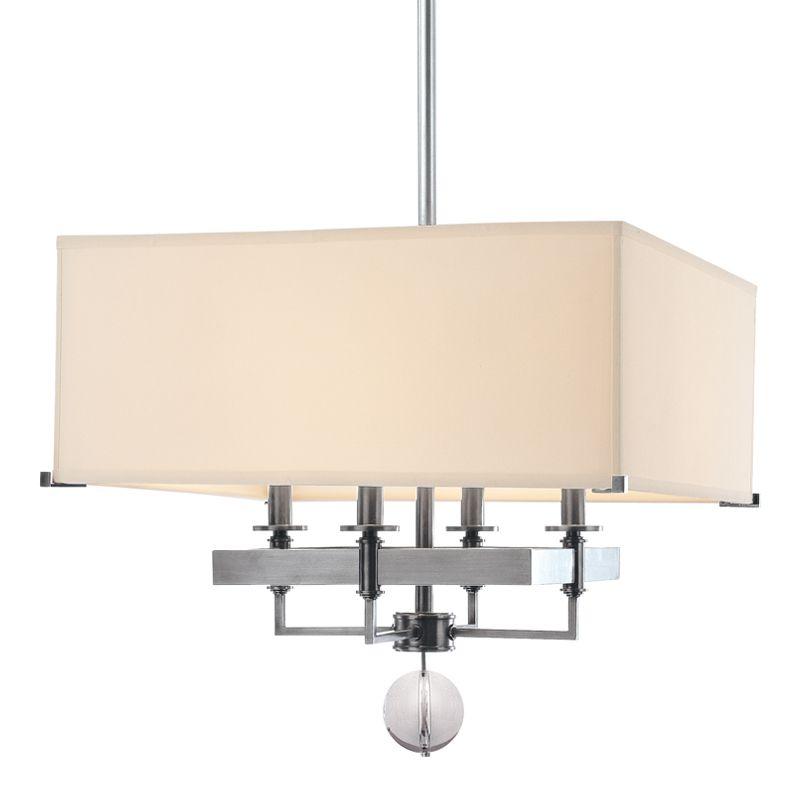Hudson Valley Lighting 5645 Gresham Park 4 Light Chandelier Polished