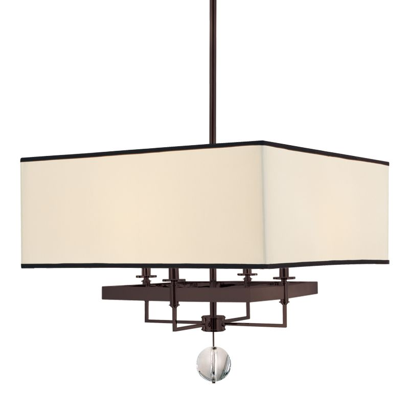 Hudson Valley Lighting 5646 Gresham Park 4 Light Chandelier Old Bronze
