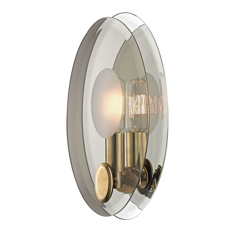 Hudson Valley Lighting 5711 Galway 1 Light Wall Sconce with Tungsten Sale $250.00 ITEM#: 2402391 MODEL# :5711-AGB UPC#: 806134174248 :