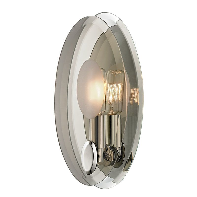 Hudson Valley Lighting 5711 Galway 1 Light Wall Sconce with Tungsten Sale $250.00 ITEM#: 2402392 MODEL# :5711-PN UPC#: 806134174255 :