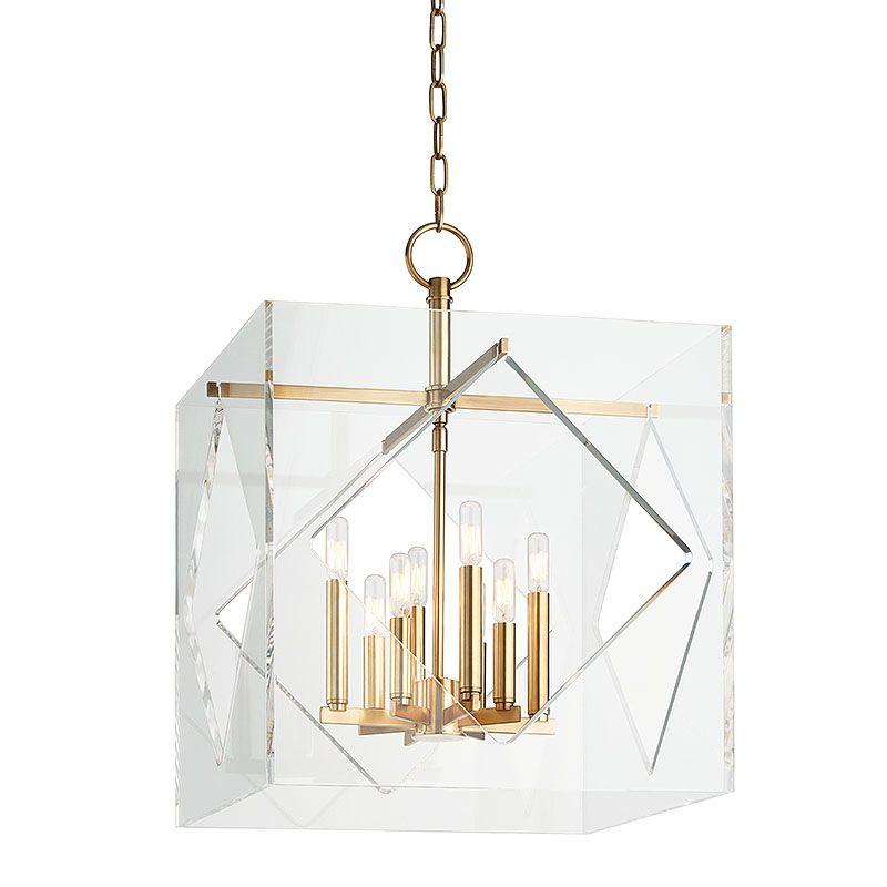 "Hudson Valley Lighting 5920 Travis 8 Light 20"" Foyer Pendant with Sale $1798.00 ITEM#: 2402219 MODEL# :5920-AGB UPC#: 806134177720 :"