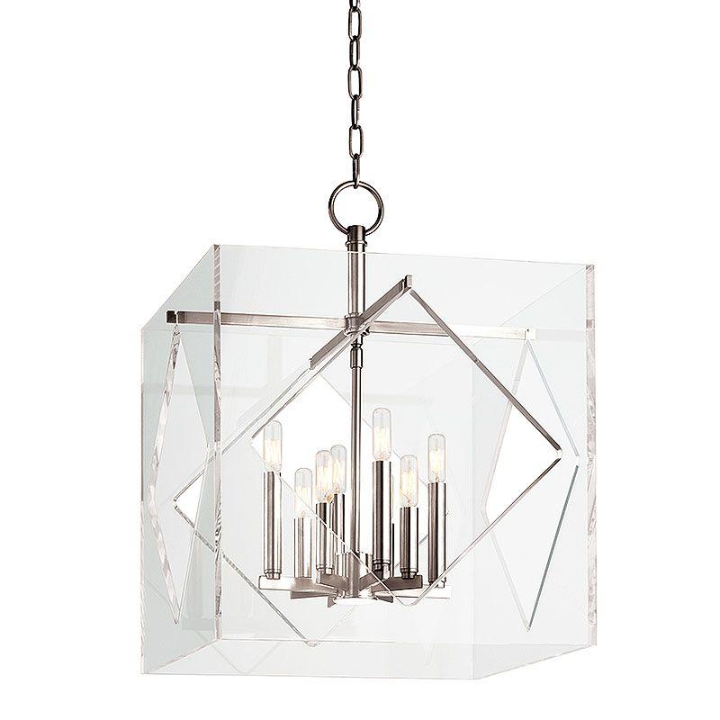 """Hudson Valley Lighting 5920 Travis 8 Light 20"""" Foyer Pendant with Sale $1798.00 ITEM#: 2402220 MODEL# :5920-PN UPC#: 806134177737 :"""