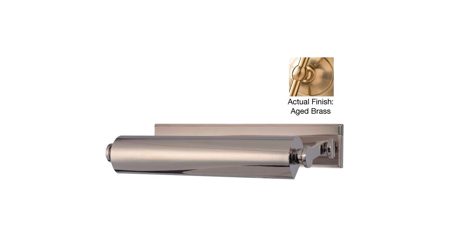 Hudson Valley Lighting 6015 Merrick 2 Light Solid Brass Picture Light Sale $750.00 ITEM#: 2063118 MODEL# :6015-AGB UPC#: 806134131326 :
