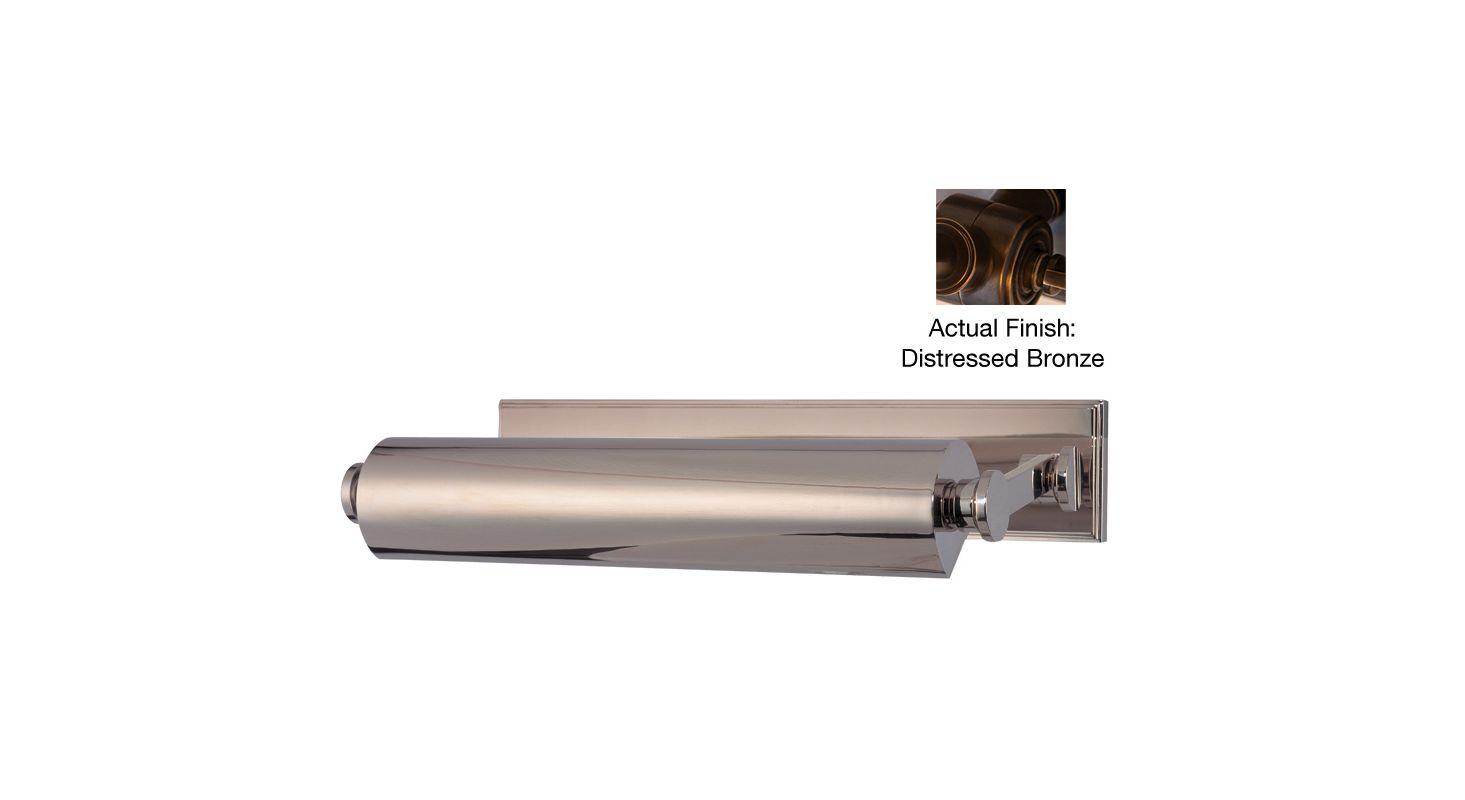 Hudson Valley Lighting 6015 Merrick 2 Light Solid Brass Picture Light Sale $750.00 ITEM#: 2063119 MODEL# :6015-DB UPC#: 806134131333 :