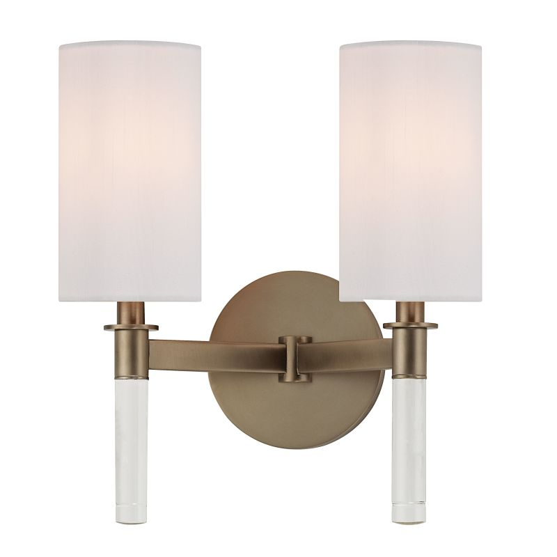 Hudson Valley Lighting 6312 Wylie 2 Light Wall Sconce Brushed Bronze