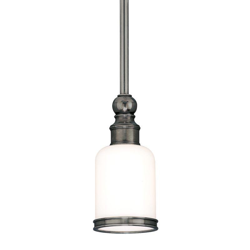 Hudson Valley Lighting 6321 Chatham 1 Light Mini Pendant with Opal Sale $428.00 ITEM#: 525696 MODEL# :6321-AN UPC#: 806134031107 :