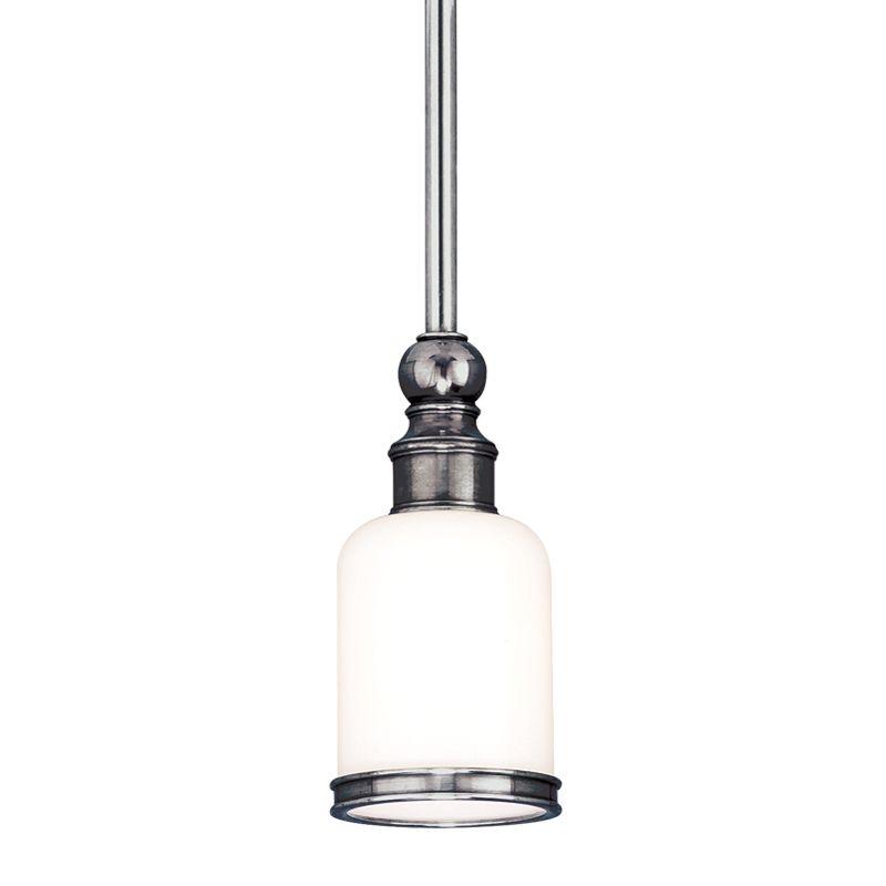 Hudson Valley Lighting 6321 Chatham 1 Light Mini Pendant with Opal Sale $428.00 ITEM#: 526135 MODEL# :6321-PN UPC#: 806134031121 :