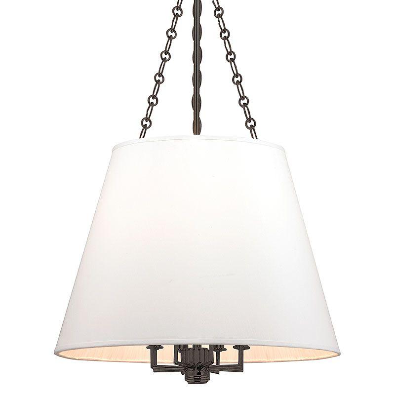 Hudson Valley Lighting 6422 Burdett 8 Light Pendant with Faux Silk Sale $900.00 ITEM#: 2402193 MODEL# :6422-OB UPC#: 806134177898 :