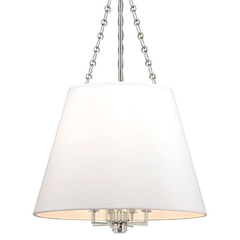 Hudson Valley Lighting 6422 Burdett 8 Light Pendant with Faux Silk Sale $900.00 ITEM#: 2402194 MODEL# :6422-PN UPC#: 806134177904 :