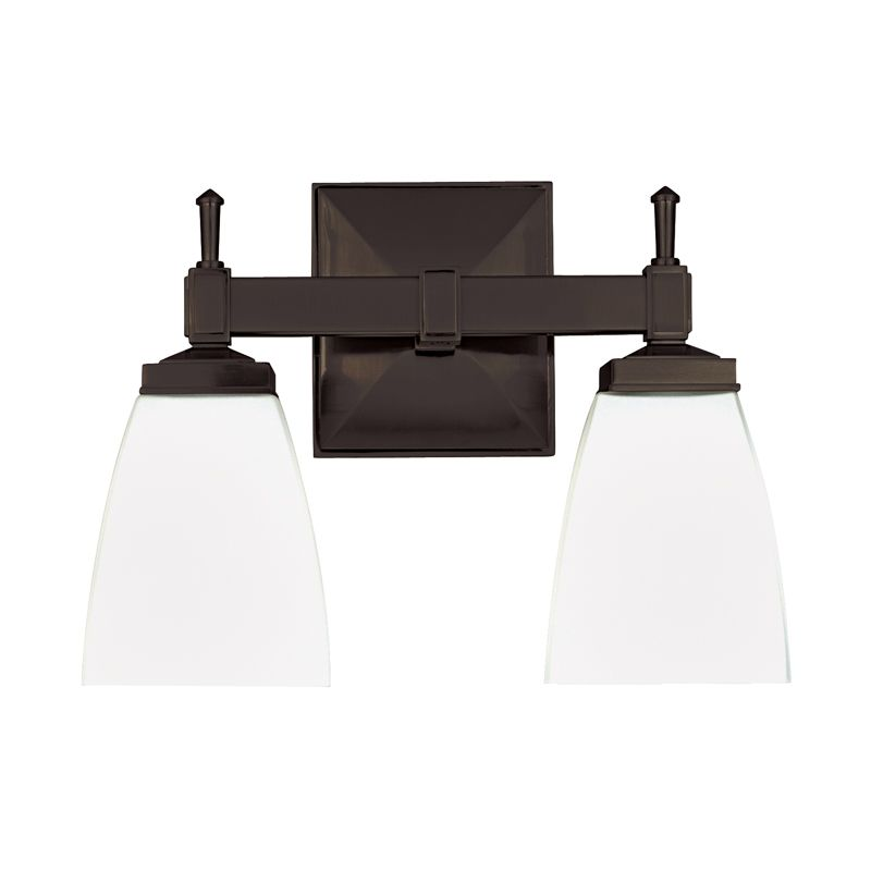 "Hudson Valley Lighting 652 Two Light 12"" Wide Bathroom Fixture from Sale $278.00 ITEM#: 525833 MODEL# :652-OB UPC#: 806134031671 :"