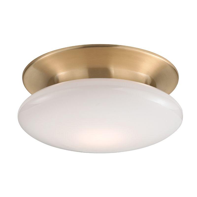 """Hudson Valley Lighting 7012 Irvington 12"""" LED Flush Mount Ceiling with"""