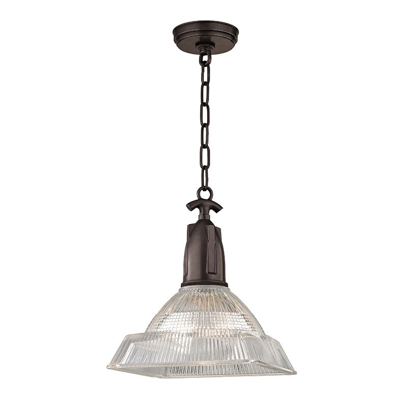"Hudson Valley Lighting 7111 Langdon Single Light 11"" Pendant with"
