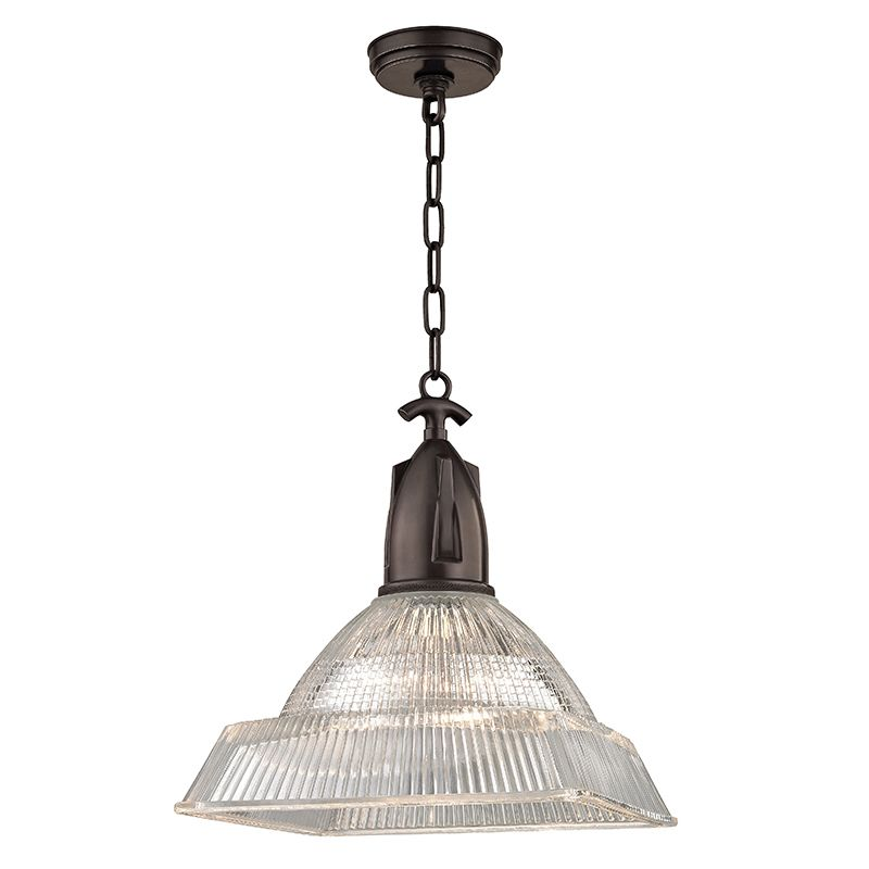 "Hudson Valley Lighting 7114 Langdon Single Light 14"" Pendant with"