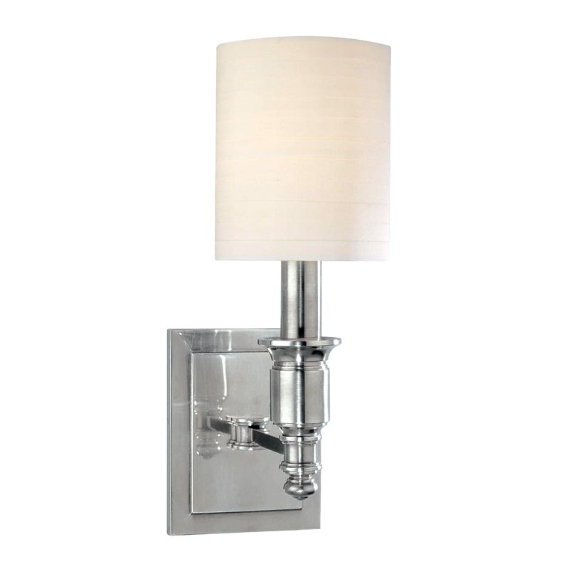 Hudson Valley Lighting 7501 Single Light Up Lighting Wallchiere Style Sale $268.00 ITEM#: 1737631 MODEL# :7501-PN UPC#: 806134125110 :