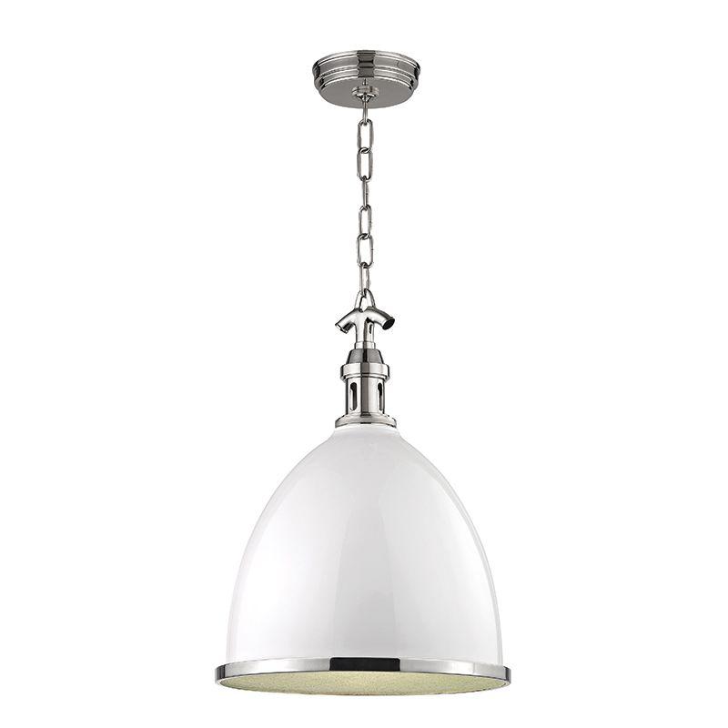 "Hudson Valley Lighting 7718 Viceroy Single Light 17"" Pendant with"