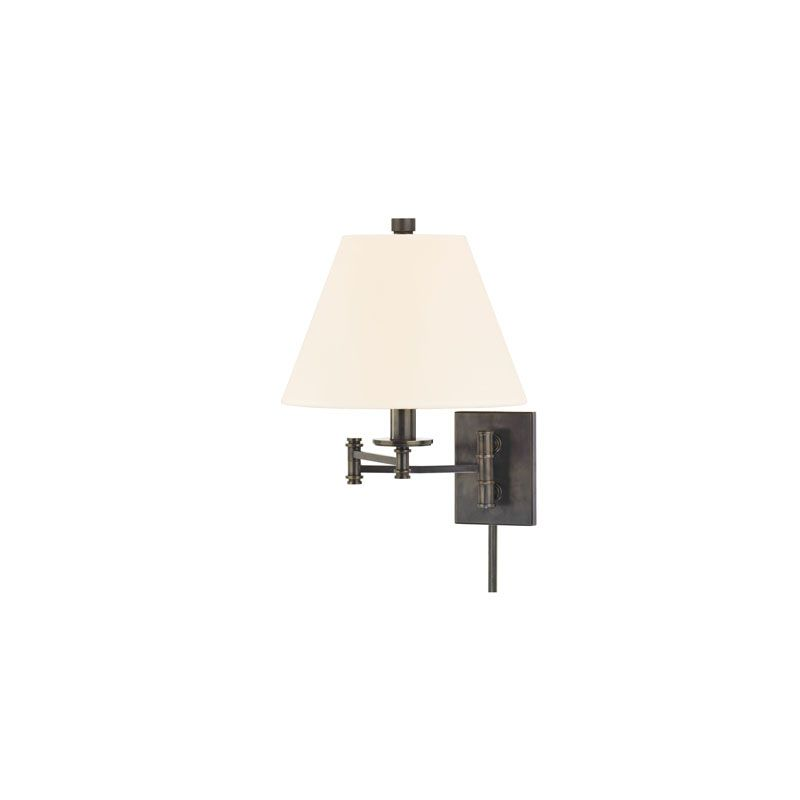 Hudson Valley Lighting 7721-WS Claremont 1 Light Swing Arm Wall Sconce