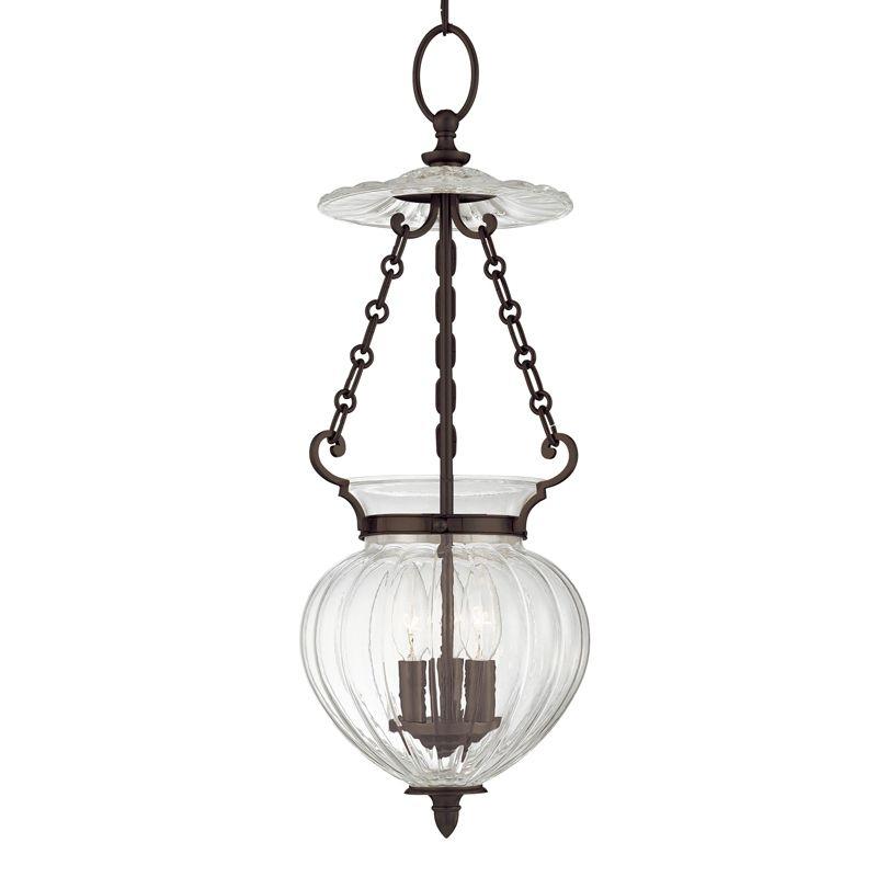 Hudson Valley Lighting 781 Three Light Pendant from the Gardner Sale $642.00 ITEM#: 982249 MODEL# :781-OB UPC#: 806134098858 :