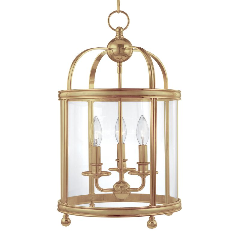 Hudson Valley Lighting 7812 Three Light Up Lighting Enclosed Pendant