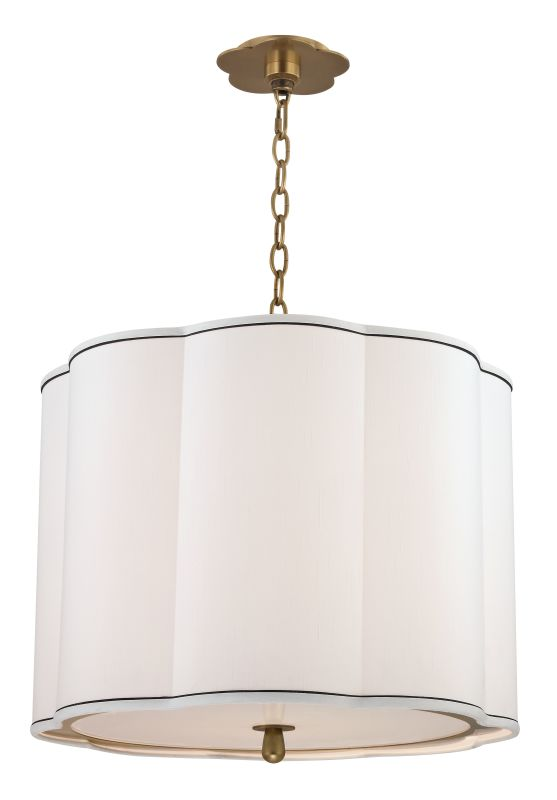 Hudson Valley Lighting 7920 Sweeny 4 Light Pendant Aged Brass Indoor Sale $856.00 ITEM#: 2295374 MODEL# :7920-AGB UPC#: 806134161491 :