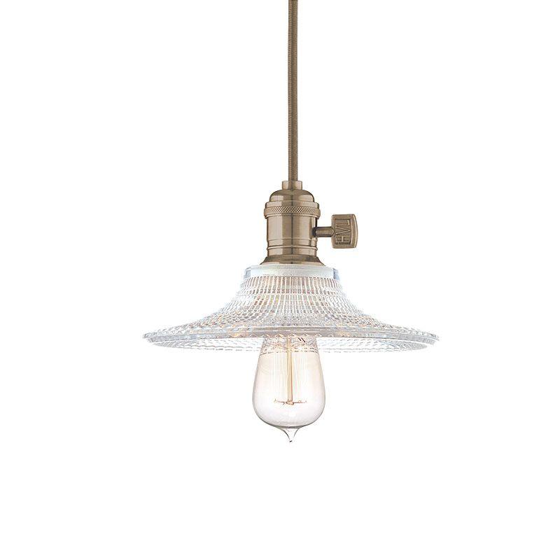 Hudson Valley Lighting 8002-GS6 Heirloom 1 Light Pendant Historic Sale $288.00 ITEM#: 2063324 MODEL# :8002-HN-GS6 UPC#: 806134132507 :