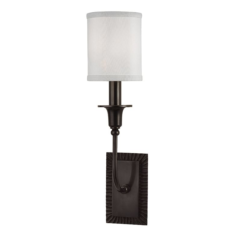 "Hudson Valley Lighting 8081 Dover Single Light 17"" Tall Wall Sconce"