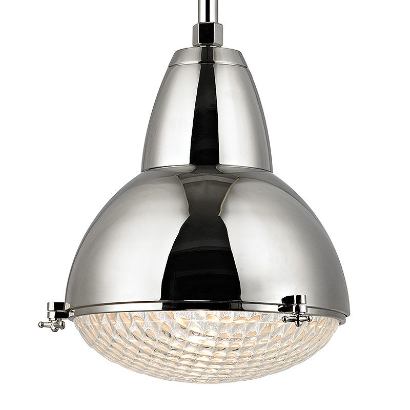 "Hudson Valley Lighting 8117 Belmont 1 Light 20"" Industrial Pendant"
