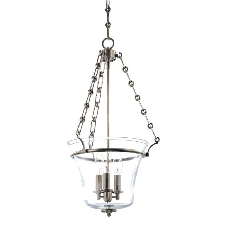 Hudson Valley Lighting 831 Three Light Up Lighting Full Sized Pendant Sale $632.00 ITEM#: 1737677 MODEL# :831-HN UPC#: 806134123895 :