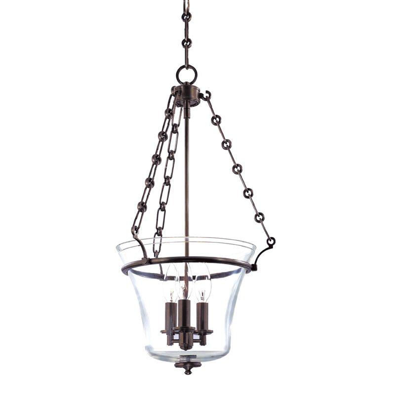 Hudson Valley Lighting 831 Three Light Up Lighting Full Sized Pendant Sale $632.00 ITEM#: 1737678 MODEL# :831-OB UPC#: 806134123901 :