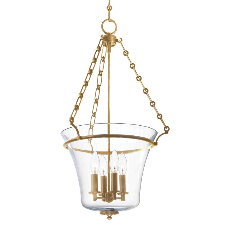Hudson Valley Lighting 833 Four Light Up Lighting Pendant with Urn Sale $748.00 ITEM#: 1737704 MODEL# :833-AGB UPC#: 806134123963 :