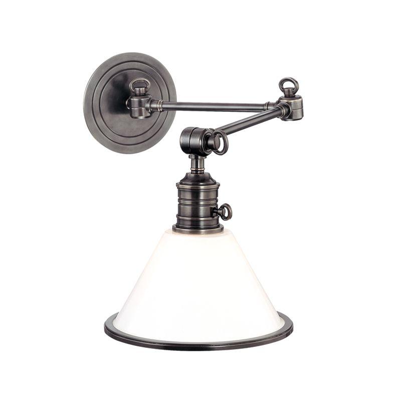 Hudson Valley Lighting 8332 Single Light Down Lighting Brass Swing Arm
