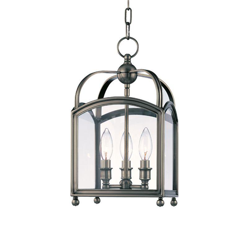 Hudson Valley Lighting 8409 Three Light Up Lighting Enclosed Mini Sale $846.00 ITEM#: 1737722 MODEL# :8409-HN UPC#: 806134116217 :