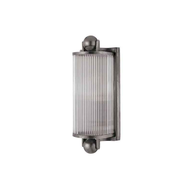Hudson Valley Lighting 851 One Light Wall Sconce from the Mclean Sale $342.00 ITEM#: 982273 MODEL# :851-AN UPC#: 806134093228 :