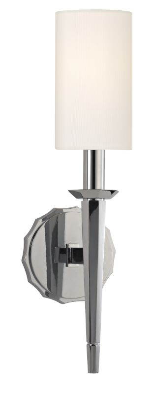 Hudson Valley Lighting 8881 Tioga 1 Light Wall Sconce Polished Chrome