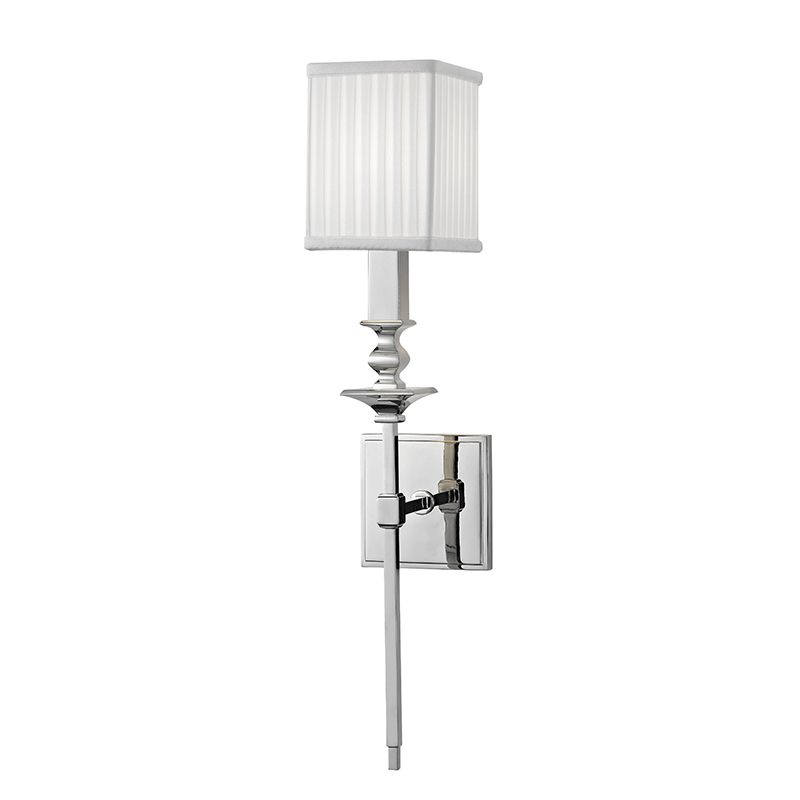 """Hudson Valley Lighting 8911 Towson Single Light 21"""" Wall Sconce with"""