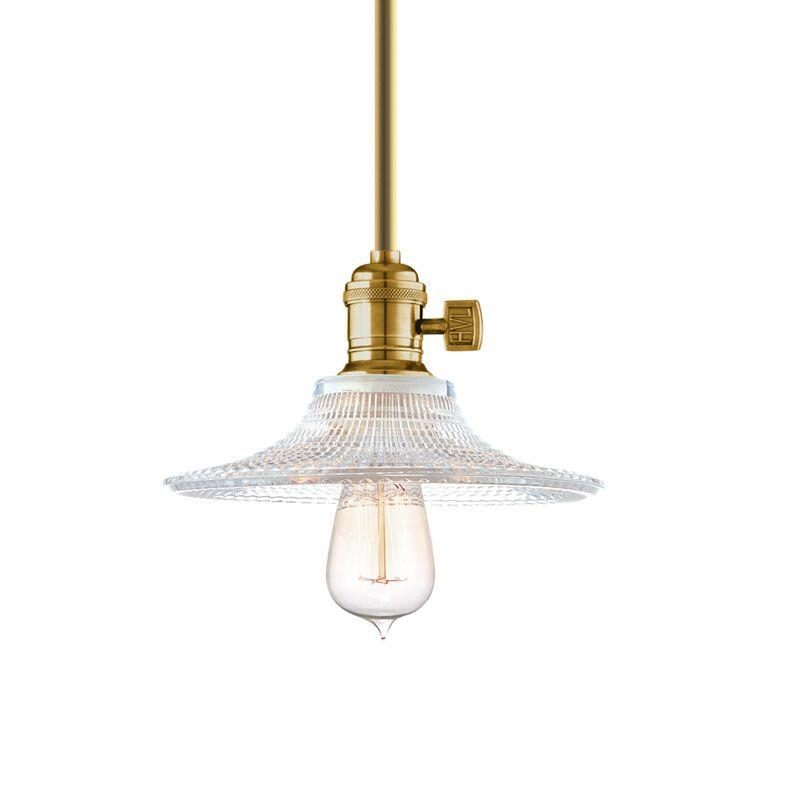 Hudson Valley Lighting 9001-GS6 Heirloom 1 Light Pendant Aged Brass