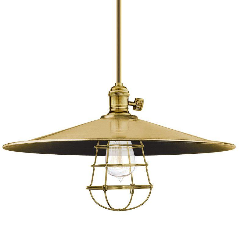 Hudson Valley Lighting 9001-ML1-WG Heirloom 1 Light Pendant Aged Brass