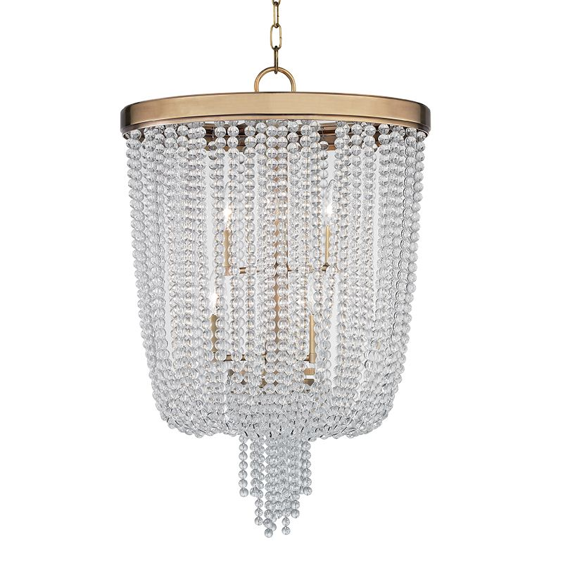 Hudson Valley Lighting 9018 Royalton 8 Light Pendant with Clear