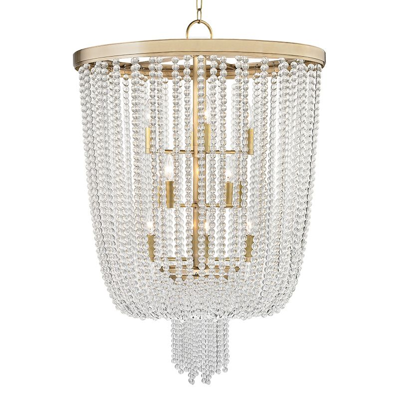 Hudson Valley Lighting 9026 Royalton 12 Light Pendant with Clear
