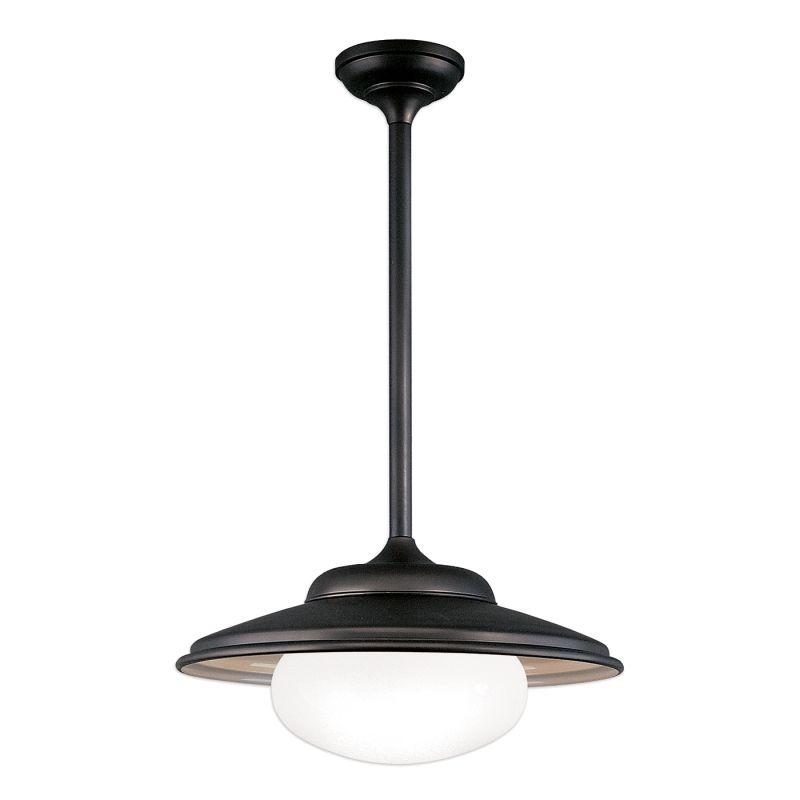 Hudson Valley Lighting 9119 Single Light Pendant from the Lowell Sale $399.00 ITEM#: 526168 MODEL# :9119-OB UPC#: 806134036225 :