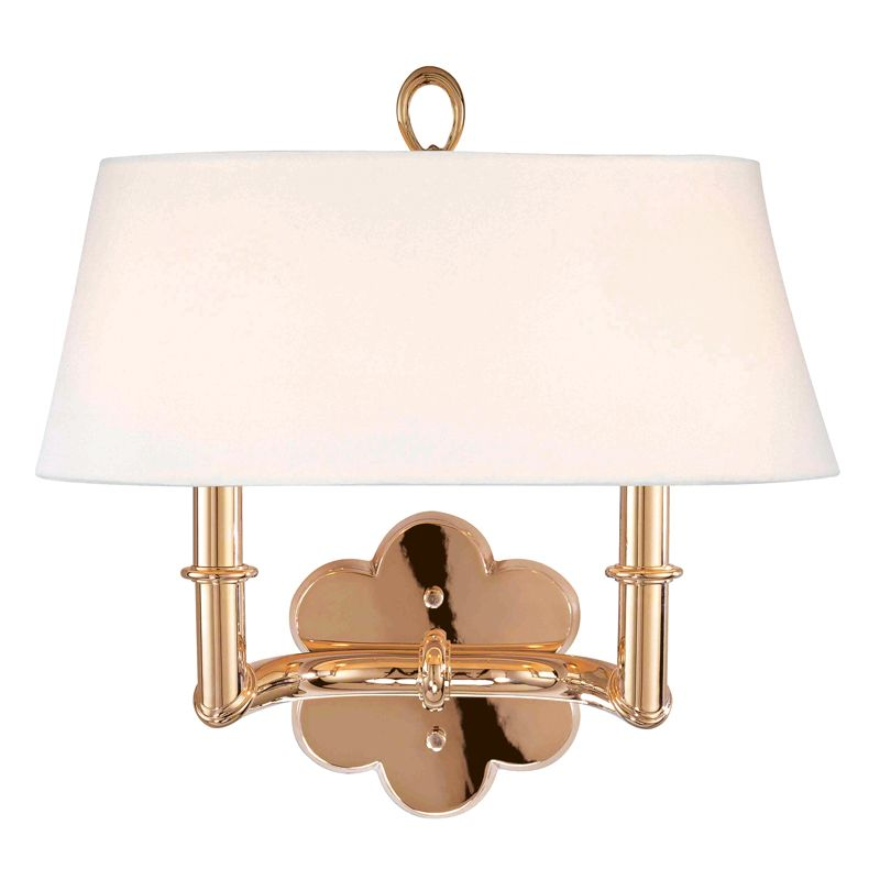 Hudson Valley Lighting 922 Two Light Up Lighting Brass Wallchiere