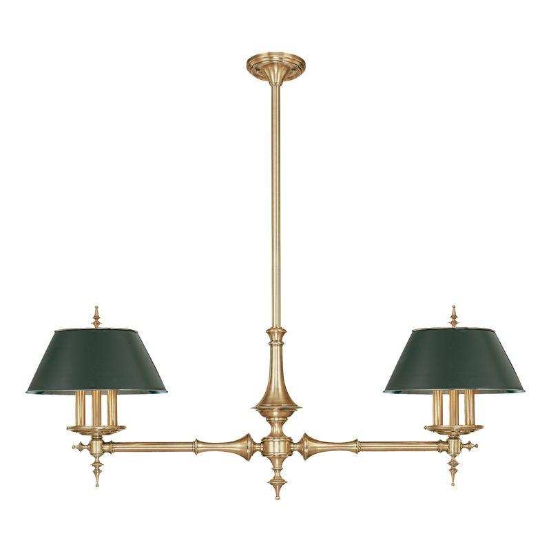 Hudson Valley Lighting 9512 Six Light Island Fixture from the Bristol Sale $2772.00 ITEM#: 524833 MODEL# :9512-AGB UPC#: 806134041793 :