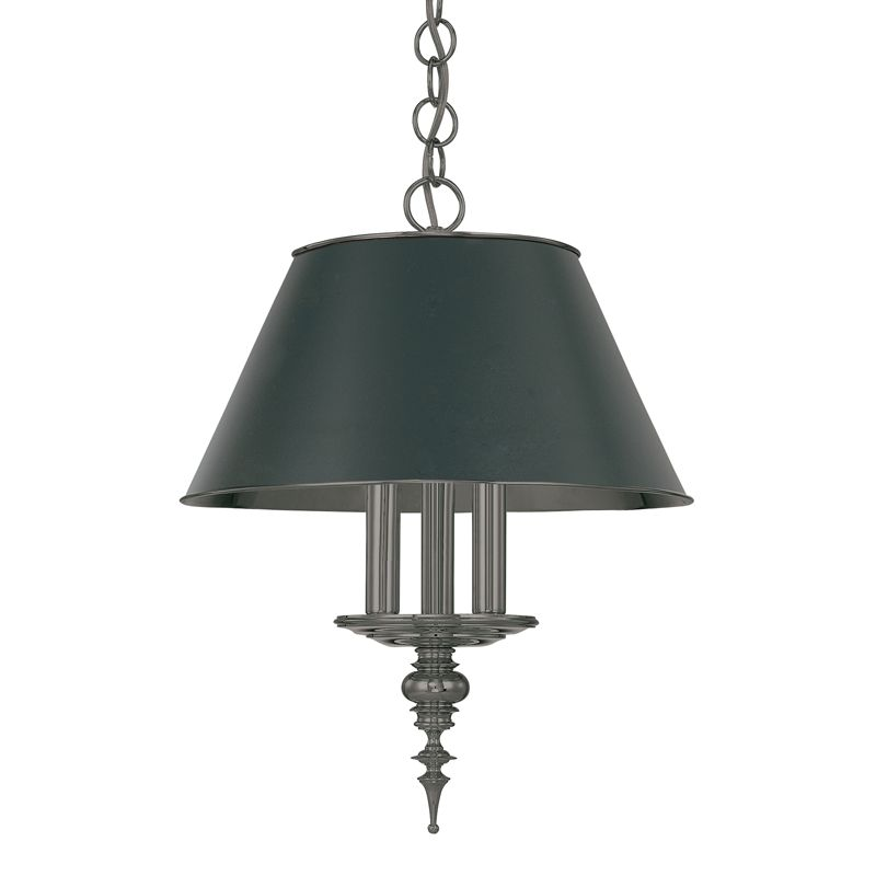 Hudson Valley Lighting 9521 Three Light Pendant from the Cheshire Sale $1070.00 ITEM#: 524761 MODEL# :9521-AN UPC#: 806134041724 :
